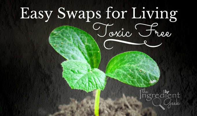 Easy Product Swaps for Living Toxic Free